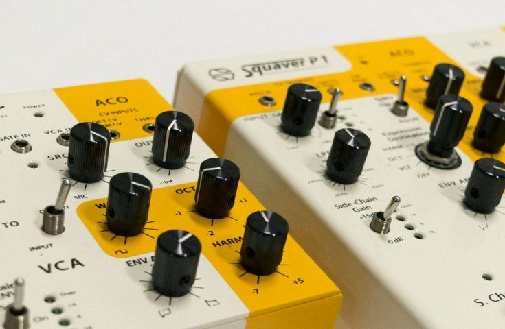 Squaver P1 and ConVerotr synths prototypes