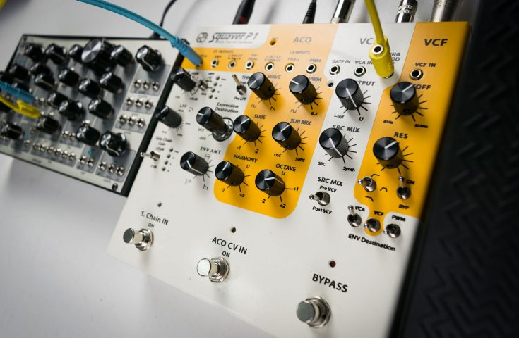 Squaver P1 semi-modular synth