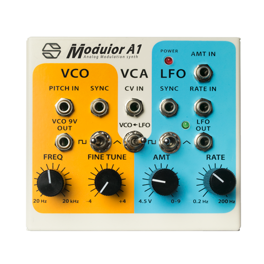 Analog synth Modulor A1 from Sonicsmith