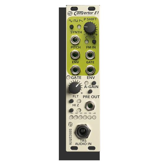 Pitch-tracking modular synthesizer